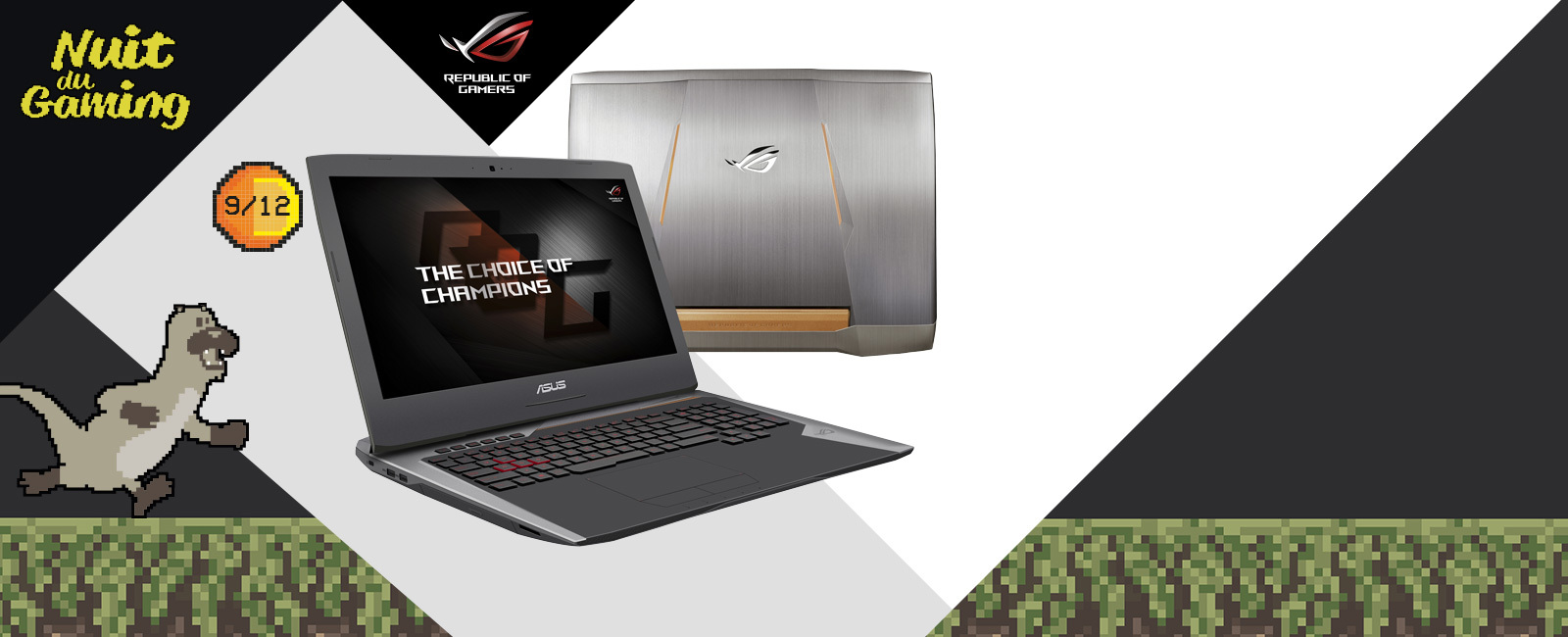 asus ordinateur portable gamer g752vy gc210t. Black Bedroom Furniture Sets. Home Design Ideas