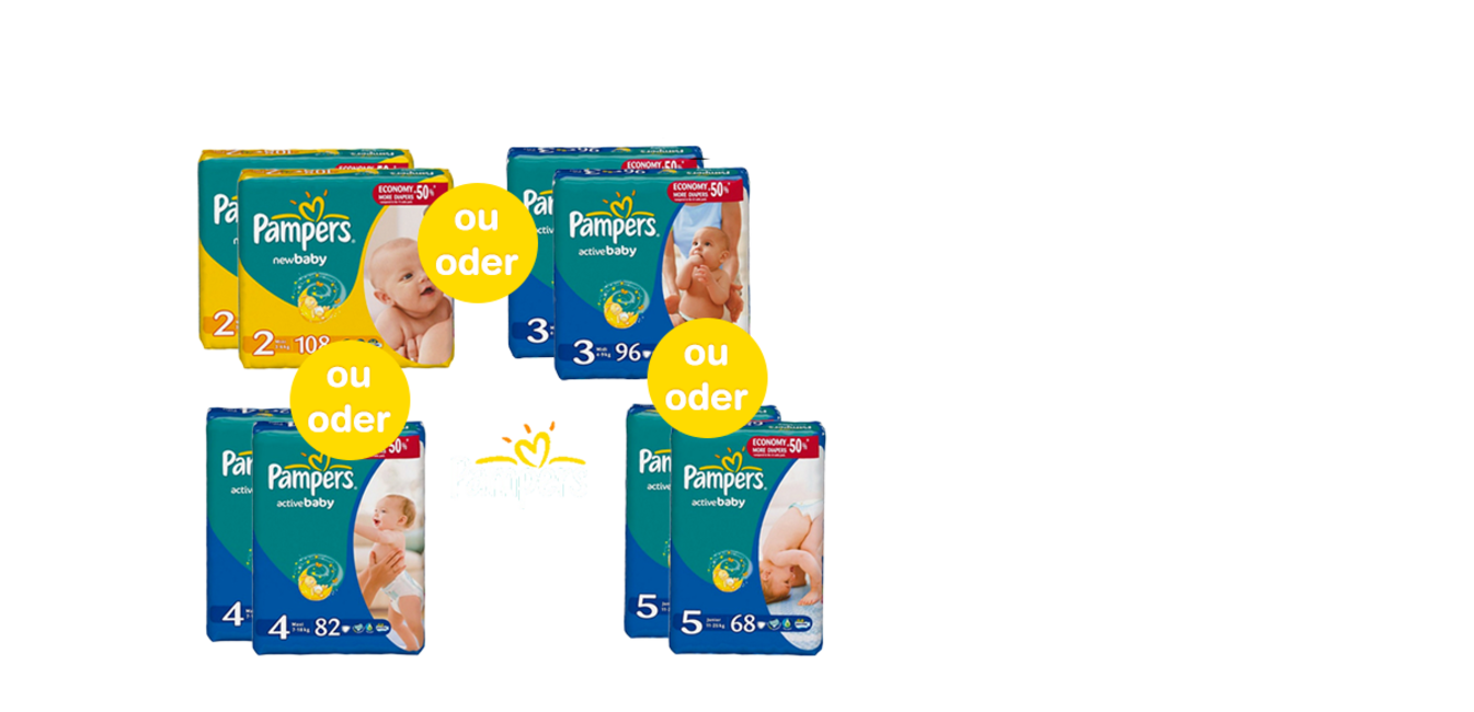 pampers kind anmelden
