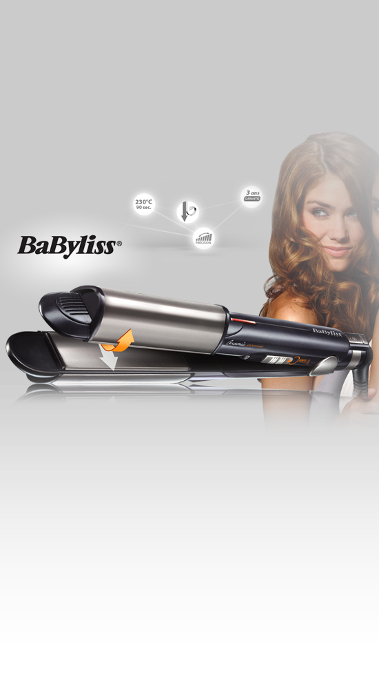 babyliss lisseur i curl pro 230 ceramic intense. Black Bedroom Furniture Sets. Home Design Ideas