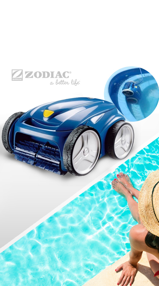 zodiac vortex 4 4wd robot nettoyeur de piscine. Black Bedroom Furniture Sets. Home Design Ideas