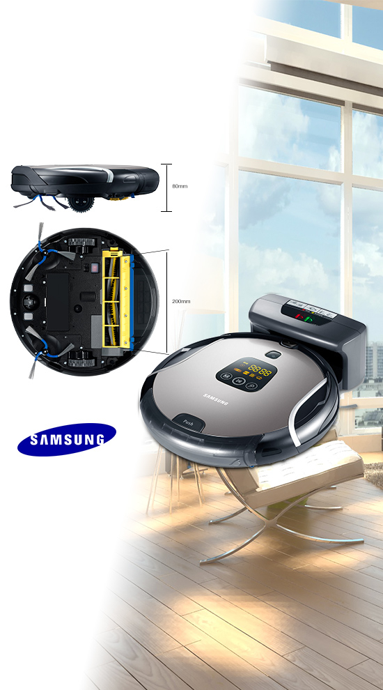 samsung aspirateur robot sr8937 navibot s. Black Bedroom Furniture Sets. Home Design Ideas