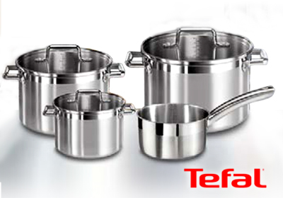 tefal set 4 casseroles tefal. Black Bedroom Furniture Sets. Home Design Ideas
